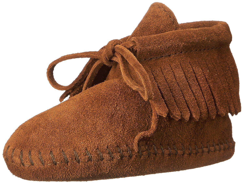 Minnetonka Unisex Babies' Fringe Bootie Crawling Shoes Fringeie - K