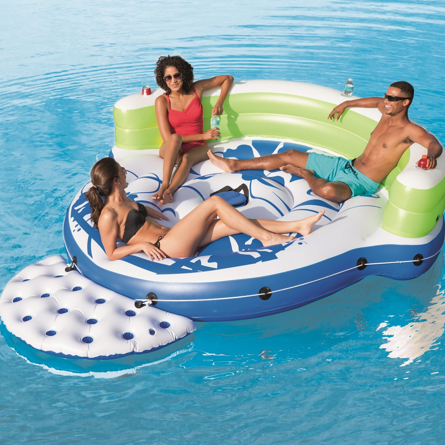 Amazon CoolerZ Kick Back Lounge Inflatable Floating Island