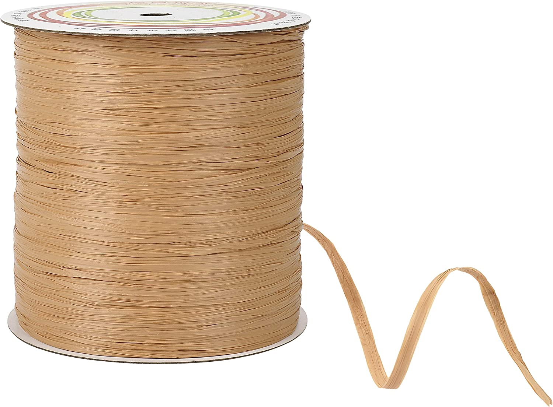 20 m//Rouleau Papier Corde Raphia Ruban Cadeau Emballage Scrapbooking Craft Décoration À faire soi-même