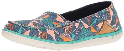Womens Duskair Moc Print Fashion Sneaker, Poseidon, 6 M US Merrell