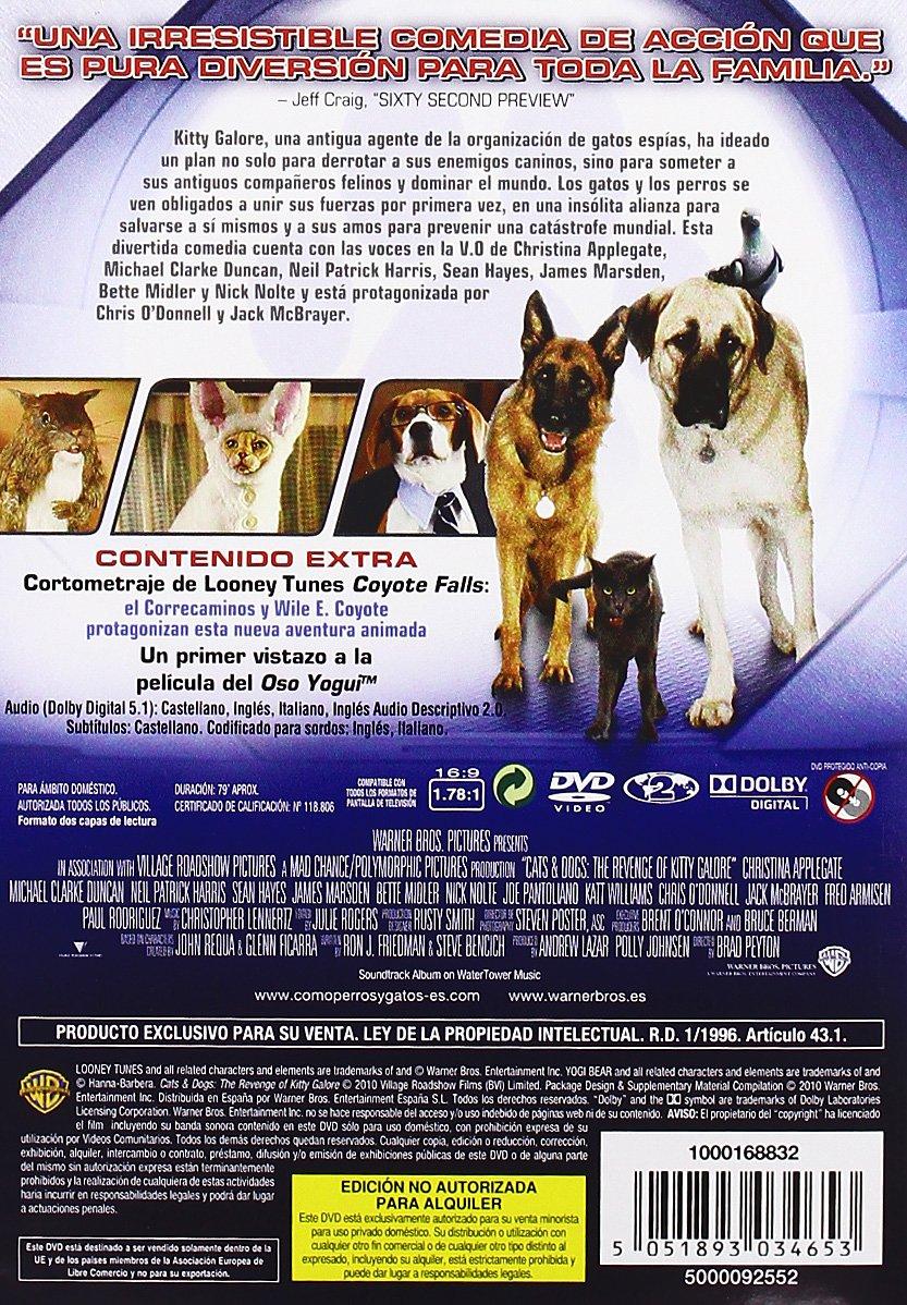 Amazon.com: Como Perros Y Gatos 2: La Revancha De Kitty Galore (Import Movie) (European Format - Zone 2) (2010) Chris: Movies & TV