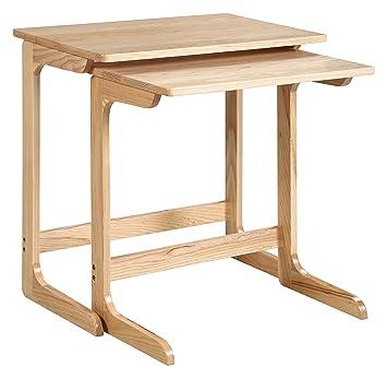 Amazon.com: Colmenas y miel Savannah 2-Pack mesa de sofá ...