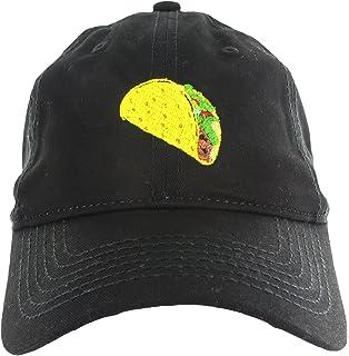 1281346e841 Amazon.com  DALIX Taco Dad Hat Baseball Cap for Men Womens Emoji ...
