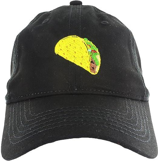 f68a3bbe2 Taco Dad Hat Cap Taco Embroidered Adjustable Baseball Cap