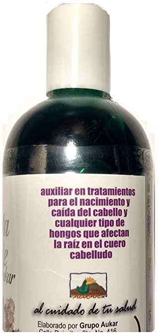 Amazon.com: Shampoo de Bergamota y Batamote Aukar, 500 ml / 17.63 Fl Oz. Shampoo of Bergamot and Batamote Aukar, Hair Wroth, Strong Hair with more Shine: ...