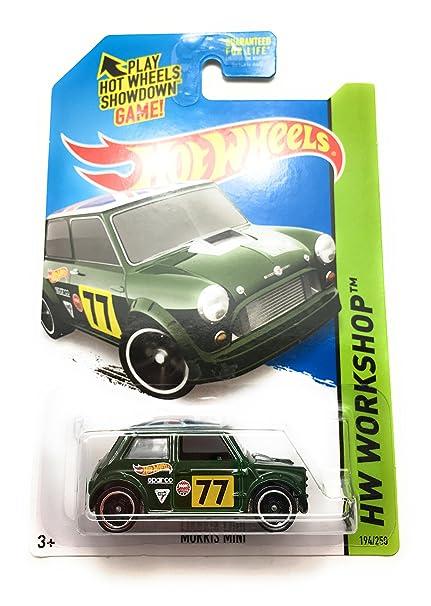 Amazoncom Hot Wheels Mini Cooper Morris Mini 164 Scale Die Cast