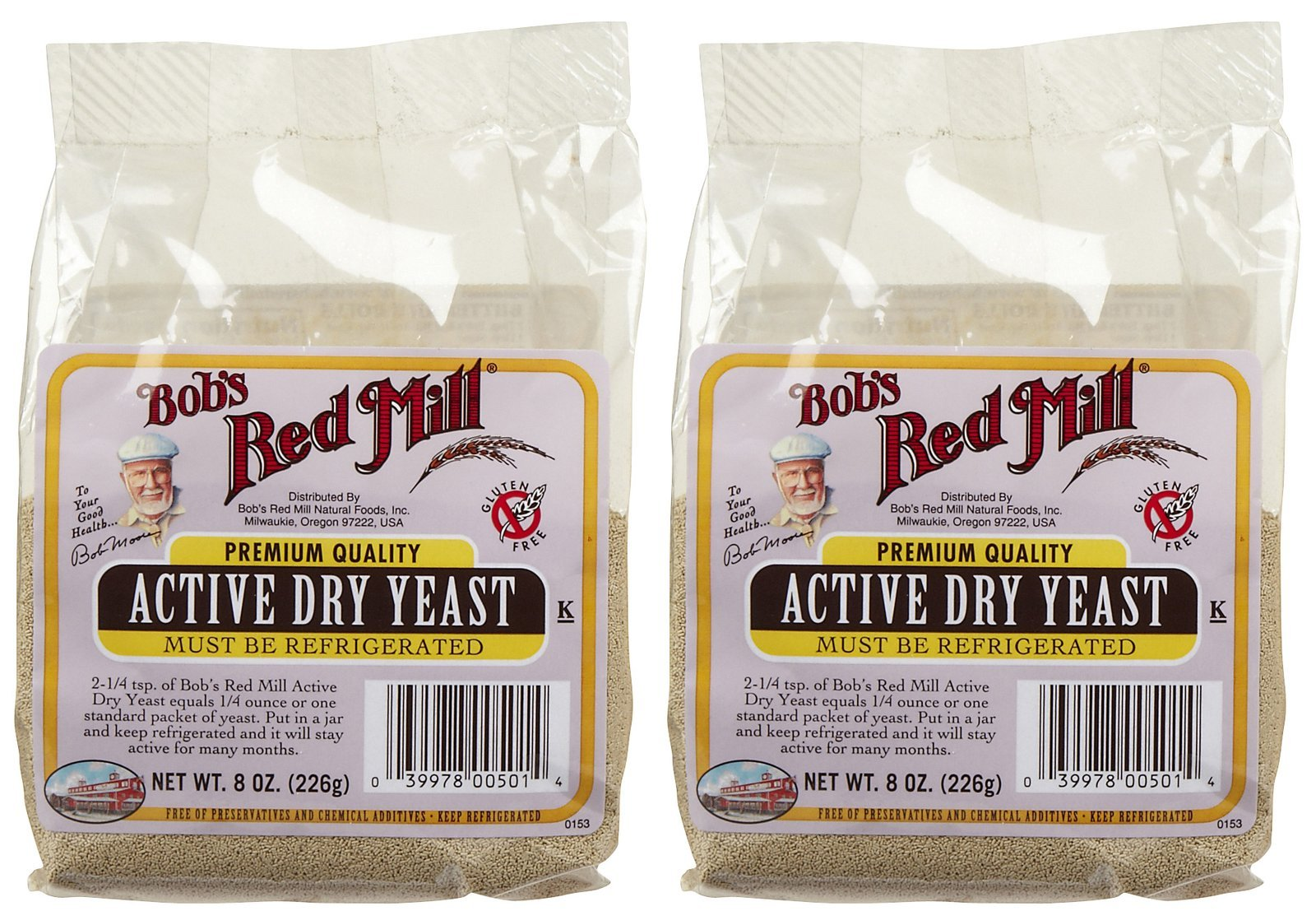 Bob's Red Mill Active Dry Yeast (2 / 8oz)