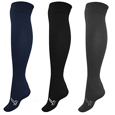 valore eccezionale prezzo scontato repliche 6 paia calzini lunghi uomo caldo cotone LANCETTI art.LAN120L 2blu 2nero  2grigio taglia unica