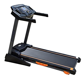 Durafit 001 Strong Motorized Foldable Treadmill (Black) Treadmills at amazon