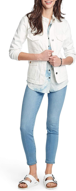 Free shipping on posting reviews NIC+ZOE Women's Denim Jacket Safari Max 56% OFF