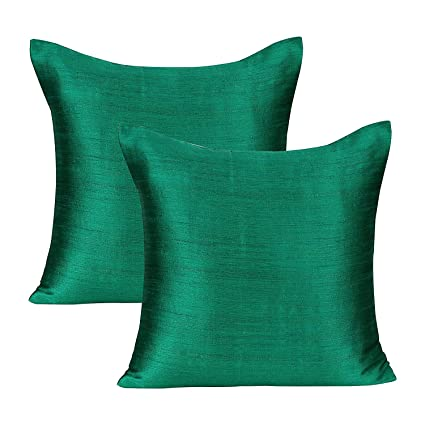 Amazon The White Petals Emerald Green Green Decorative Pillows Fascinating Teal Green Decorative Pillows