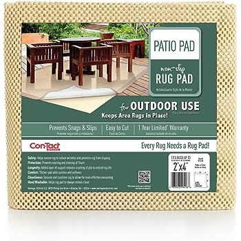 Amazon Com Con Tact Rug Pad 8x10 Outdoor Area Rug Pad