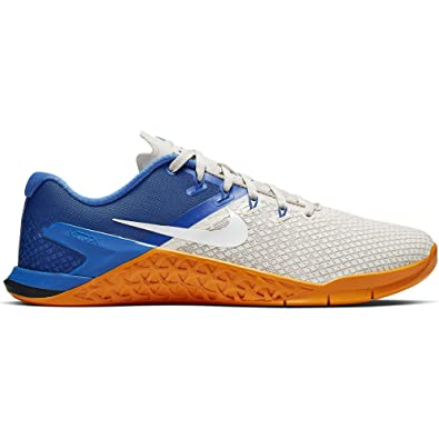 new style 27768 bad04 Nike Metcon 4 XD Men s Training Shoe Light Bone White-Game Royal-Orange