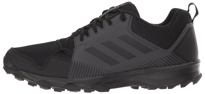 adidas Outdoor Men's Terrex Tracerocker Trail Running Shoe, Black/Black/Utility Black, 11 D US S80898-11