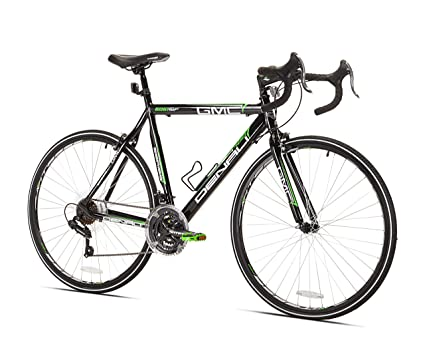 Amazon.com : GMC Denali Road Bike, Black/Green, 25-Inch/Large : Road ...