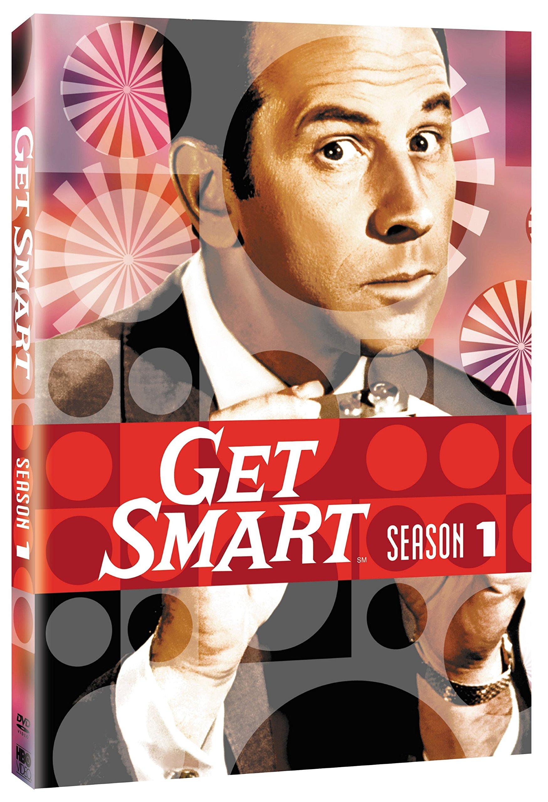 DVD : Get Smart: Season 1 (Remastered, Restored, Standard Screen, 4 Disc)