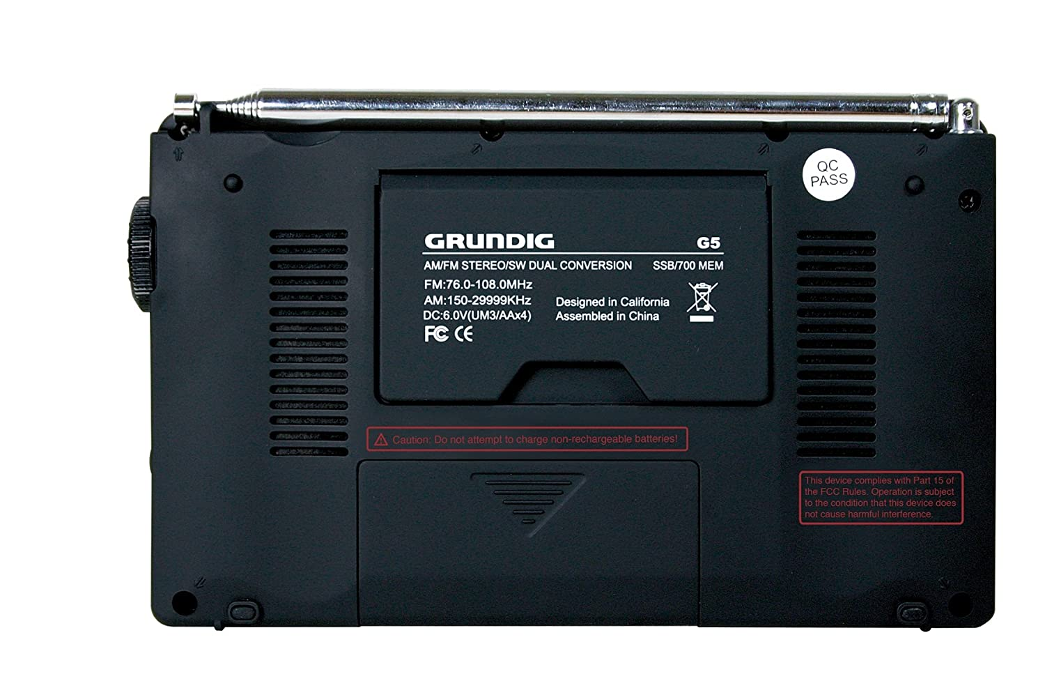 Amazon.com: GRUNDIG G5 AM/FM/Shortwave Portable Radio with SSB  (Discontinued by Manufacturer): Home Audio & Theater
