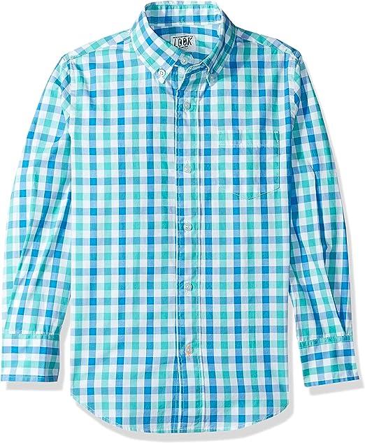 Crew Brand // J LOOK by crewcuts Boys Long Sleeve Chambray Shirt