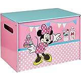 Disney 474INN - Juguetero con diseño de Minnie Mouse, color rosa