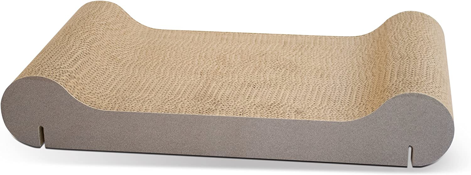 """K&H Pet Products EZ Mount Scratcher Kitty Sill REFILL ONLY Tan 11"""" x 20"""" x 2"""""""