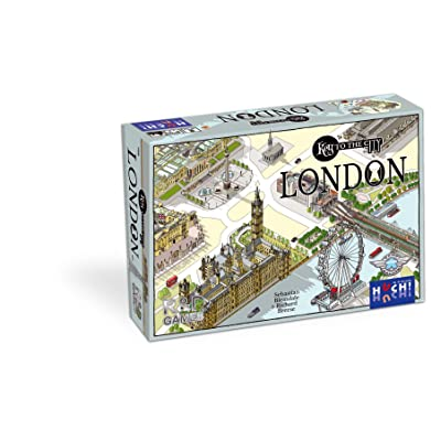 """Huch & Friends 400234 \""""Key to The City Strategy Game: Toys & Games [5Bkhe0903903]"""