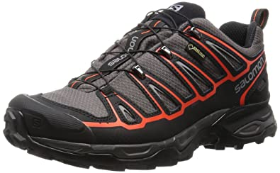 Salomon Men X Ultra 2 Gtx Low Rise Hiking Shoes, Black (AutobahnBlack