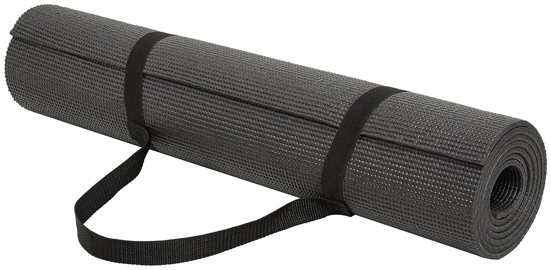 Amazonベーシック ヨガマット 6mm キャリーストラップ付