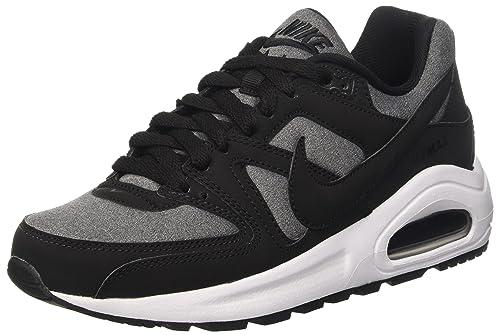 super popular d8931 6f538 Nike 844346 001, Mens Air Max Command Flex (GS), Black (Black