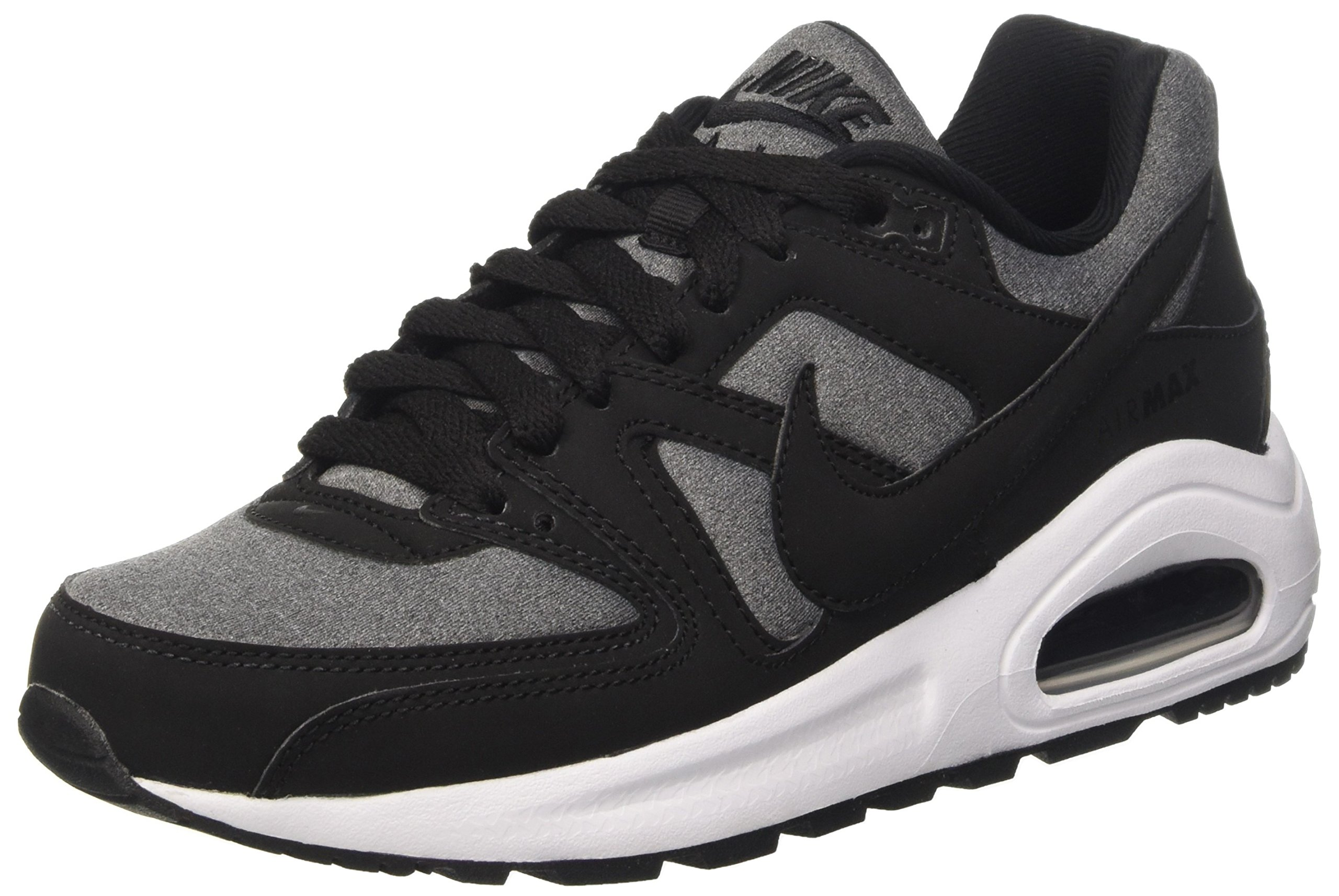 260e1ec828 Galleon - Nike Air Max Command Flex (GS) Running Trainers 844346 Sneakers  Shoes (8, Black White 001)