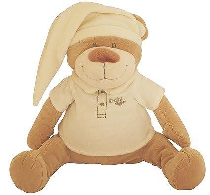 Doodoo Babiage Osito Beige - Juguete de peluche con módulo de sonido que hace sonidos del