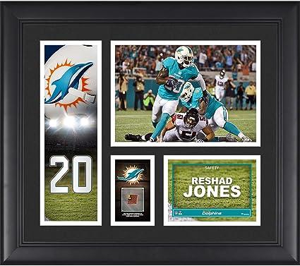 973914dd Amazon.com: Reshad Jones Miami Dolphins Framed 15