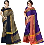 Art Decor Sarees Cotton Saree with Blouse Piece