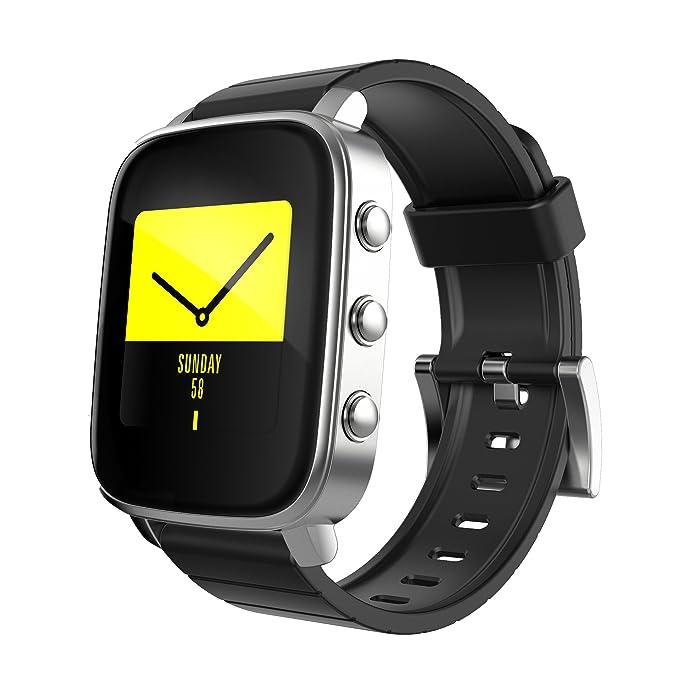 techcomm SMA Serie Q2 Smartwatch con Bluetooth, Fitness Tracker ...
