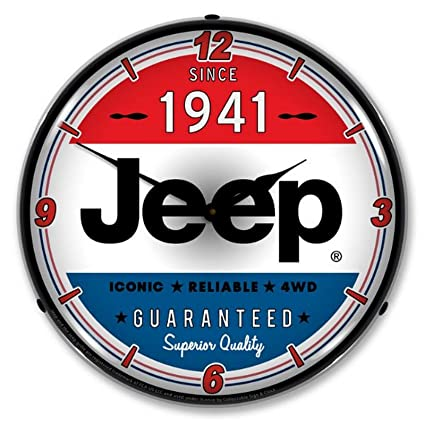 Amazon com: Collectable Sign and Clock FCAJ1709796 Jeep