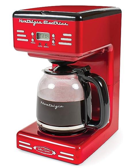 Amazon.com: Nostalgia RCOF120 Retro 12 - Cafetera ...