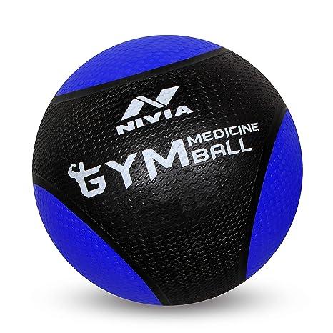 Nivia mb-1009 Suave balón Medicinal, 9 kg: Amazon.es: Deportes y ...
