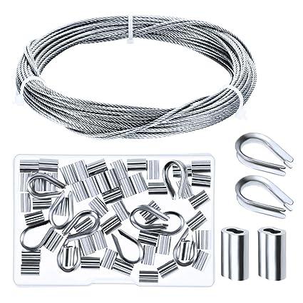 Amazon.com: Canomo - Kit de rieles de cables (incluye cable ...