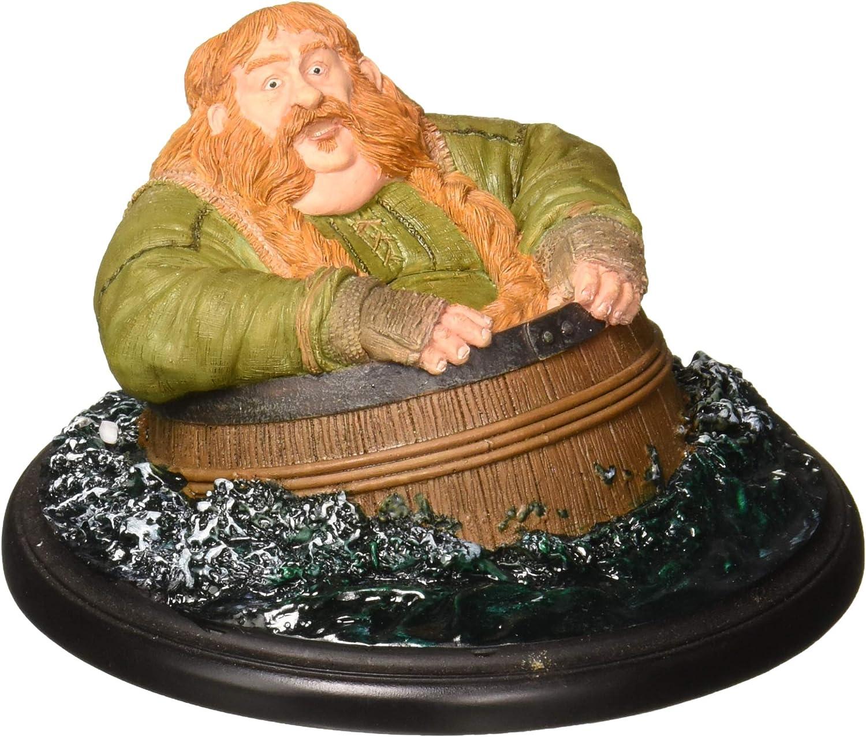 Hobbit Mini Statue Bombur Barrel Rider - Mini Statue