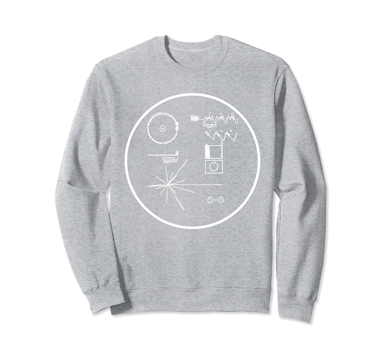 Amazon.com: NASA Voyager Golden Record t-shirt: Clothing
