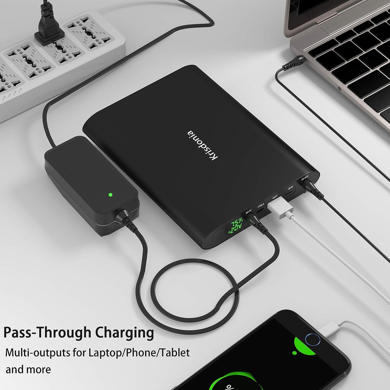Amazon.com: Krisdonia 50000mAh Laptop Power Bank 5/8.4/9/12 ...