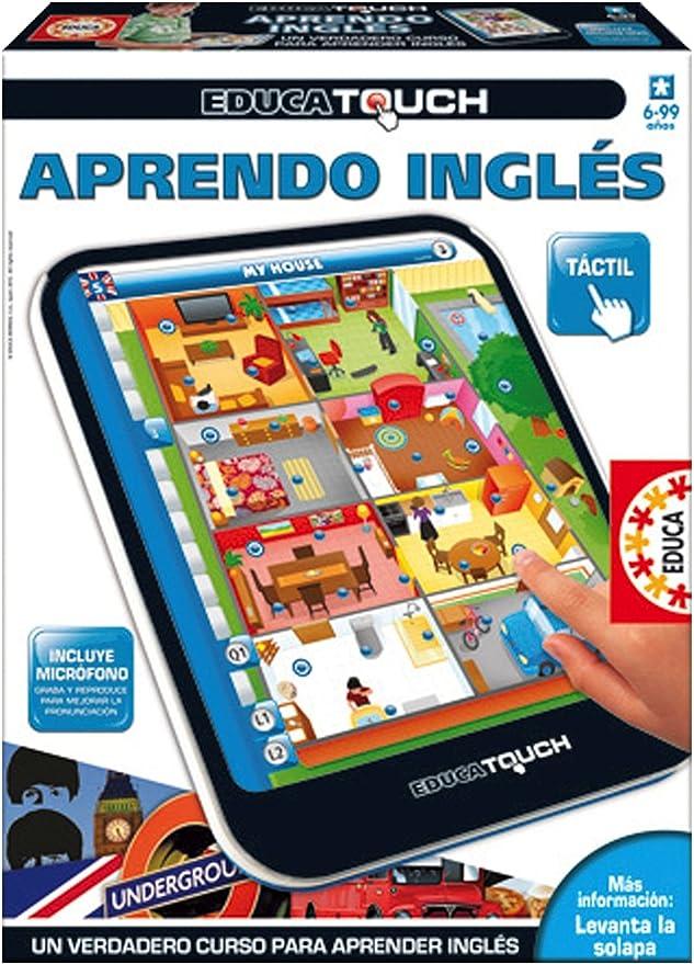 Educa Borrás - Aprendo inglés, Juego Educativo (15747): Amazon.es ...