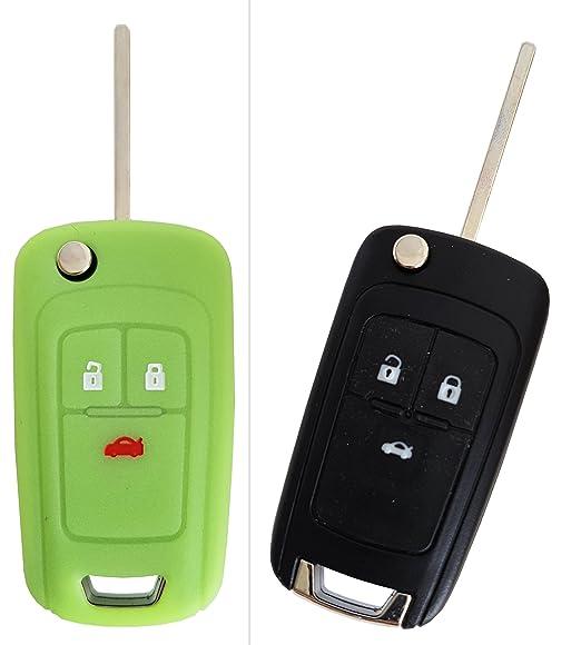 10 opinioni per carkeyplus- cover per chiavi auto CK + OPEL, portachiavi in silicone per Astra,
