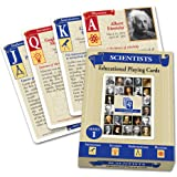 VedaCard Scientists Series 1 Educational Playing Cards - Deck for Home, School or Game Night - Have Fun Learning History