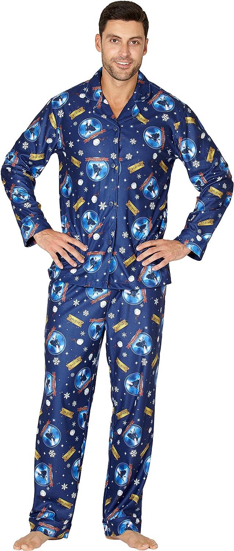 Polar Express The Adult Believe Button-Front Coat Shirt and Pants Pajama Set