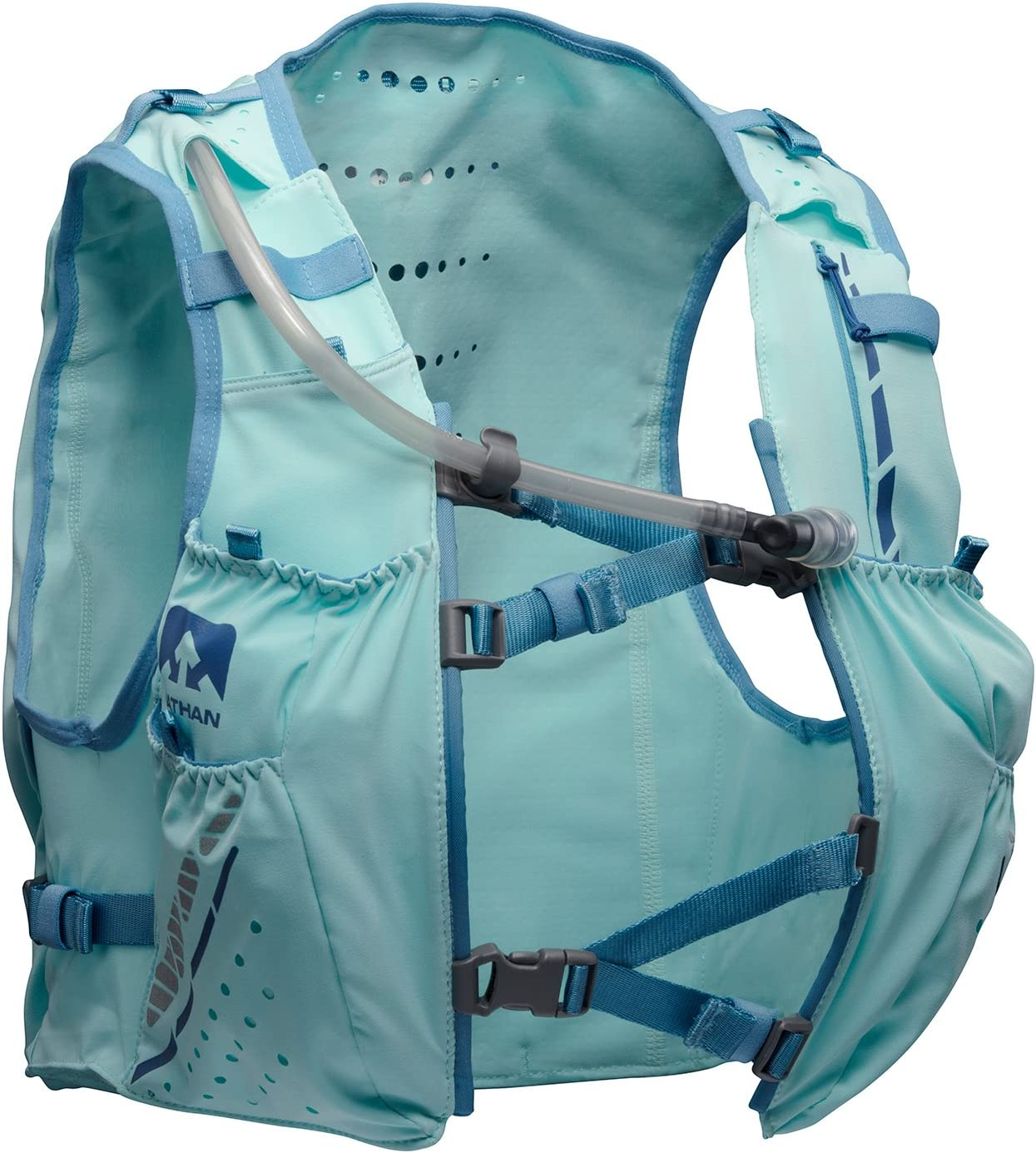 Nathan Vaporhowe Hydration Pack, Running Vest with 1.8L Hydration Bladder Reservoir, Women s