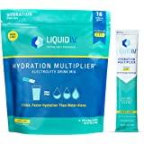 Liquid I.V. Hydration Multiplier - Lemon Lime - Hydration Powder Packets | Electrolyte Supplement Drink Mix | Low Sugar | Eas