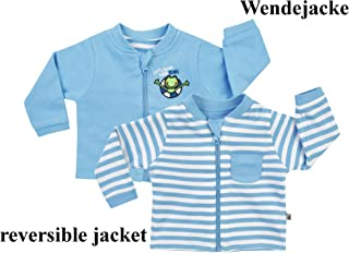 Jacky Kids Frog Stripes Giacca Reversibile, Blu, Taglia 44–86