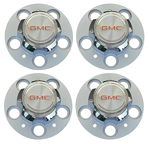 GM Restoration Set of 4 New 5 Lug 15 15x8 15x7 Rally Wheel Hub Center Caps Replacement for GMC C15 C1500 Truck Jimmy