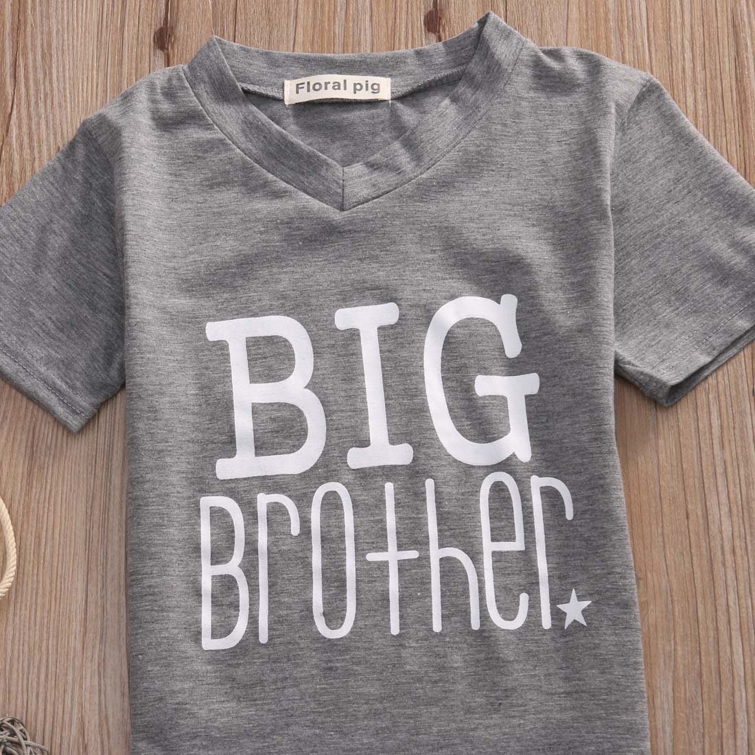 8d92721c1 Amazon.com: Gaono Toddler/Newborn Boys Shirt Big Brother T-Shirt & Little  Brother Romper &Little Sister Tee Tops: Clothing