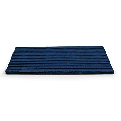 """Camco 42954 RV Step Rug ( Premium Wrap Around Double Ribbed , 100% Polyester (18"""" x 23"""") - Blue): Automotive"""